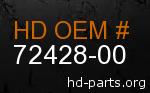 hd 72428-00 genuine part number