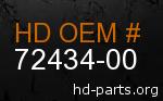 hd 72434-00 genuine part number
