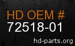 hd 72518-01 genuine part number
