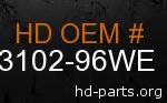 hd 73102-96WE genuine part number