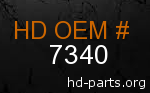 hd 7340 genuine part number
