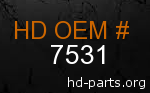 hd 7531 genuine part number