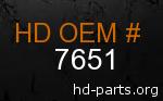 hd 7651 genuine part number