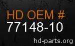 hd 77148-10 genuine part number