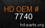 hd 7740 genuine part number