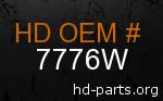 hd 7776W genuine part number