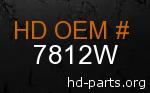 hd 7812W genuine part number