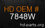 hd 7848W genuine part number