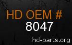 hd 8047 genuine part number