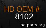 hd 8102 genuine part number