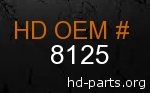 hd 8125 genuine part number