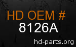 hd 8126A genuine part number