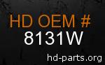 hd 8131W genuine part number