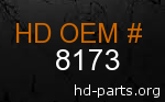 hd 8173 genuine part number