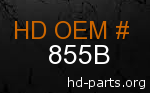 hd 855B genuine part number