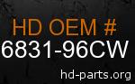 hd 86831-96CW genuine part number