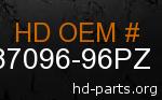 hd 87096-96PZ genuine part number