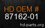 hd 87162-01 genuine part number