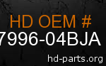 hd 87996-04BJA genuine part number