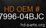 hd 87996-04BJC genuine part number
