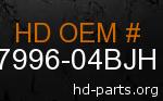 hd 87996-04BJH genuine part number