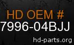 hd 87996-04BJJ genuine part number