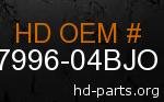 hd 87996-04BJO genuine part number