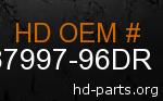 hd 87997-96DR genuine part number