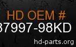 hd 87997-98KD genuine part number