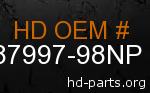 hd 87997-98NP genuine part number