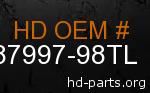 hd 87997-98TL genuine part number