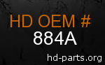 hd 884A genuine part number