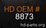 hd 8873 genuine part number