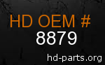 hd 8879 genuine part number