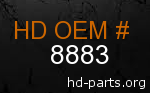 hd 8883 genuine part number