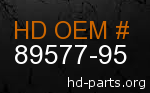 hd 89577-95 genuine part number
