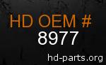 hd 8977 genuine part number