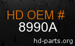 hd 8990A genuine part number