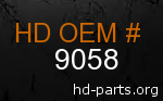 hd 9058 genuine part number