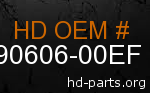 hd 90606-00EF genuine part number