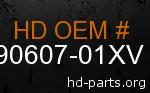 hd 90607-01XV genuine part number