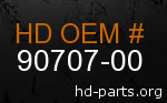 hd 90707-00 genuine part number