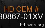 hd 90867-01XV genuine part number