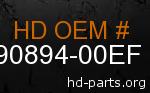 hd 90894-00EF genuine part number