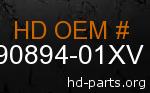 hd 90894-01XV genuine part number