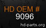 hd 9096 genuine part number