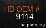 hd 9114 genuine part number