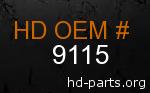 hd 9115 genuine part number