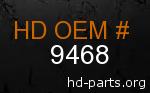 hd 9468 genuine part number