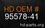 hd 95578-41 genuine part number